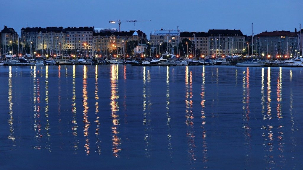 Most expensive holidays Helsinki by night